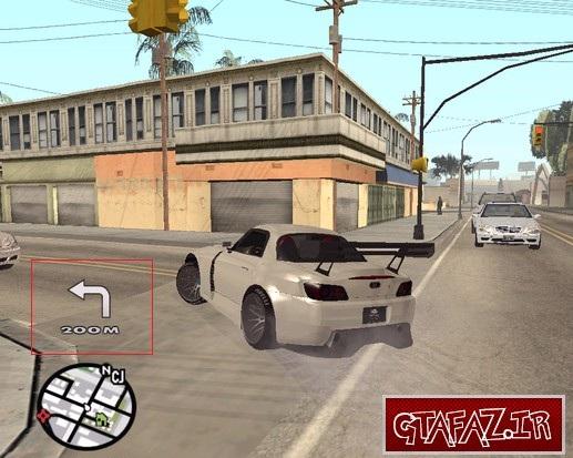 دانلود مود GPS برای (GTA 5 (San Andreas